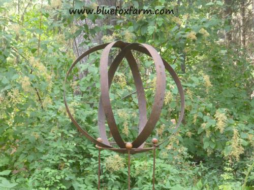 Armillary Sphere made out of barrel rings
