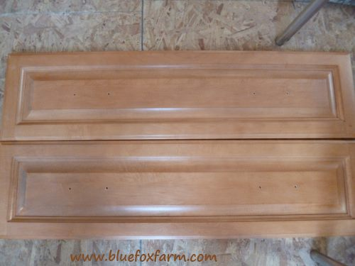 Solid maple drawer fronts?  I can use those...