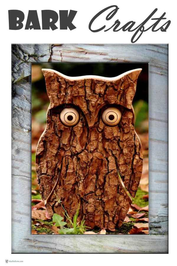 Bark Crafts
