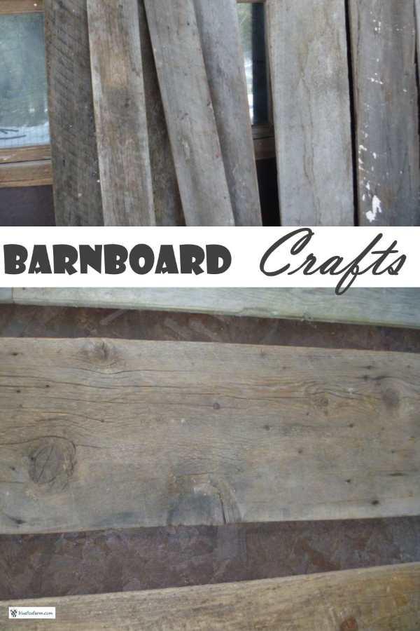Barnboard Crafts