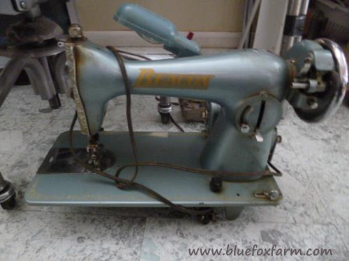Beacon Sewing Machine in perfect working order...