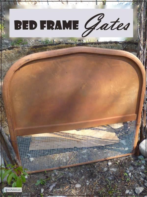Rustic Bed Frame Gates