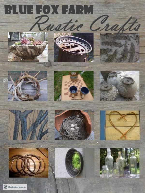 Blue Fox Farm - Rustic Crafts