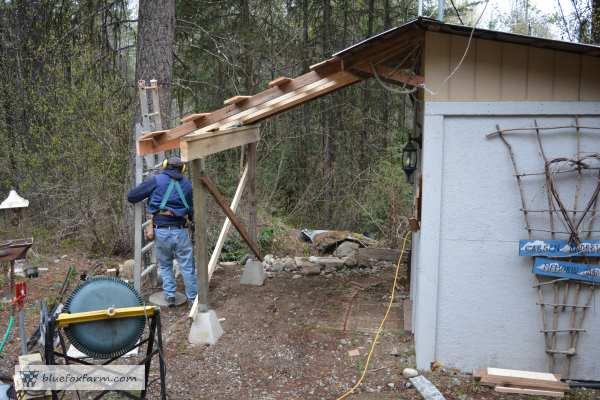 Breezeway Studio roof