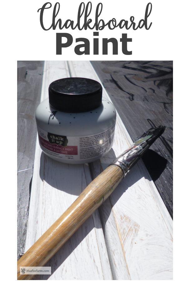 Chalkboard Paint