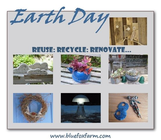 Earth Day is April 22...do your part...make some Earth Day Projects...