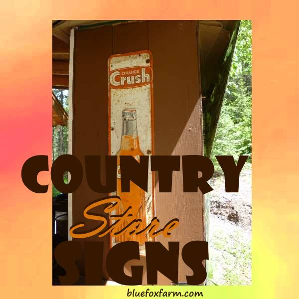 Country Store Signs