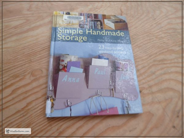Simple Handmade Storage - a book