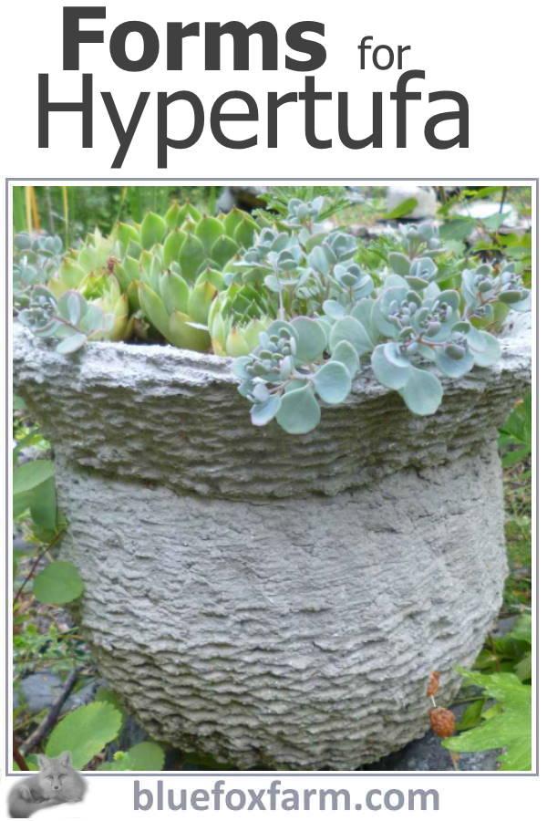Forms for Hypertufa
