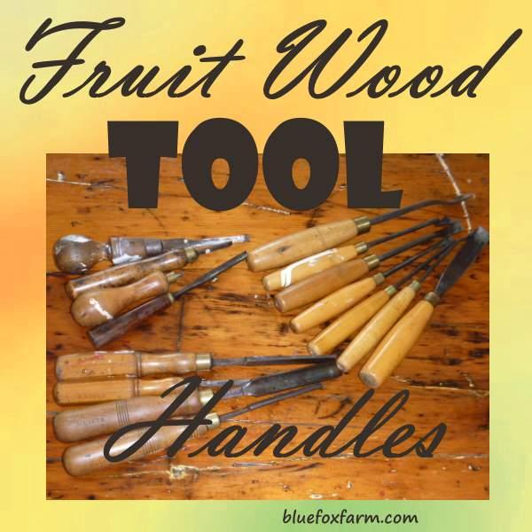 Fruit Wood Tool Handles