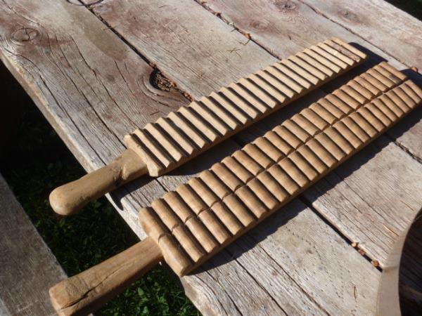 Vintage Wooden Paddles