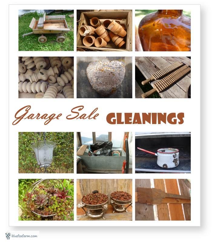 Garage Sale Gleanings