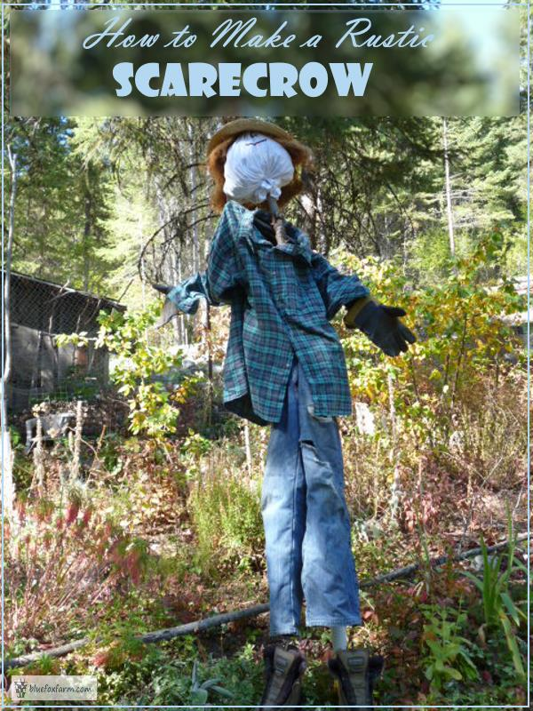 How to Make a Rustic Scarecrow