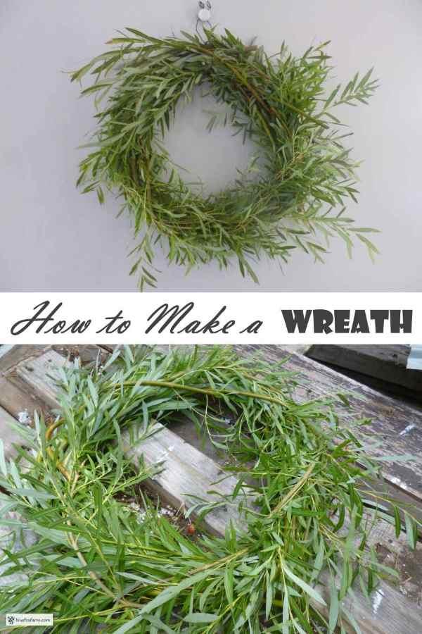 How to Make a Twig Wreath