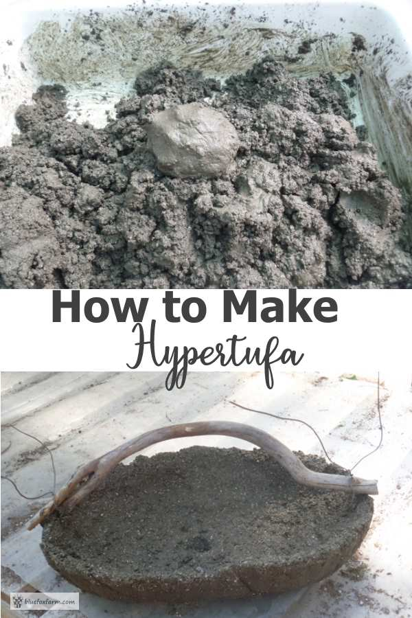 How to Make Hypertufa - DIY Rustic Garden Art
