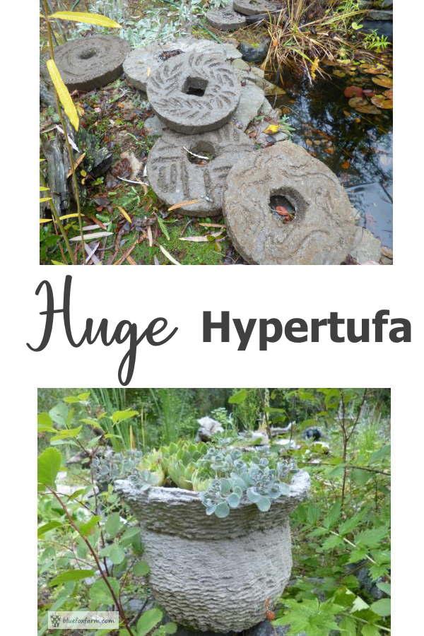 Huge Hypertufa - oversized projects