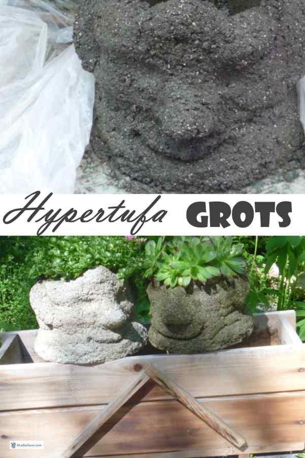 Mr. and Mrs. Hypertufa Grot