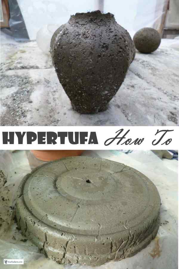 Hypertufa How To - why and wherefore...