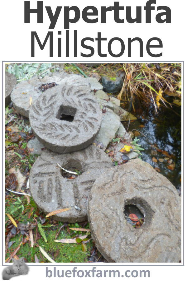 Hypertufa Millstone DIY - taking on a large project...be brave!