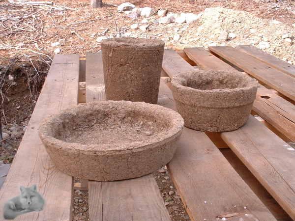 Hypertufa Pots, for Happy Succulent Plants