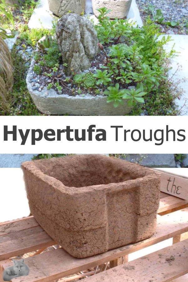 Hypertufa Trough - a mountain in miniature