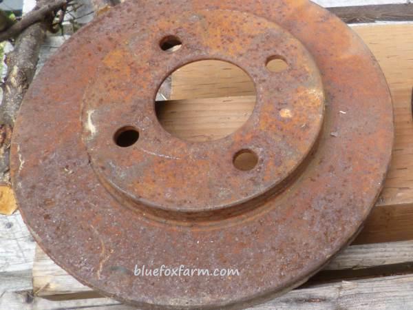 Rusty Brake Disc