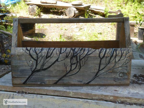 Painted Twig Toolbox