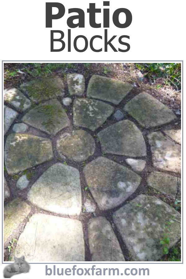 Make your own Patio Blocks