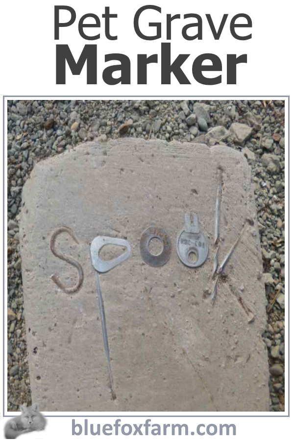 Pet Grave Markers