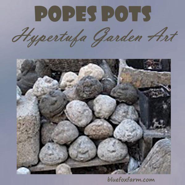 Popes Pots Hypertufa Garden Art