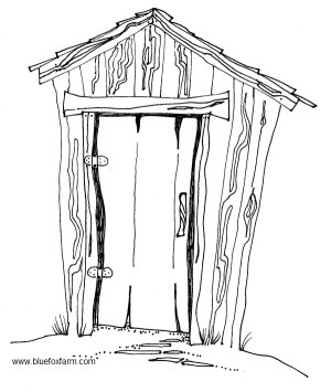 Hillbilly Outhouse