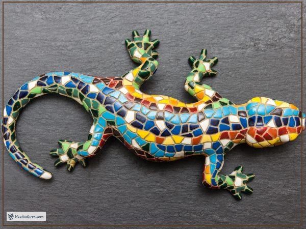 Mosaic Gekko