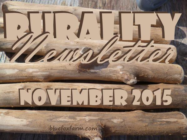 Rurality Issue #24 November 2015