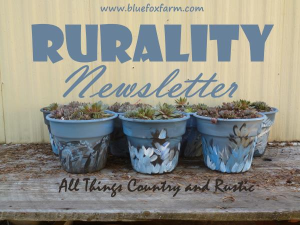 Sign up for the Rurality Newsletter...