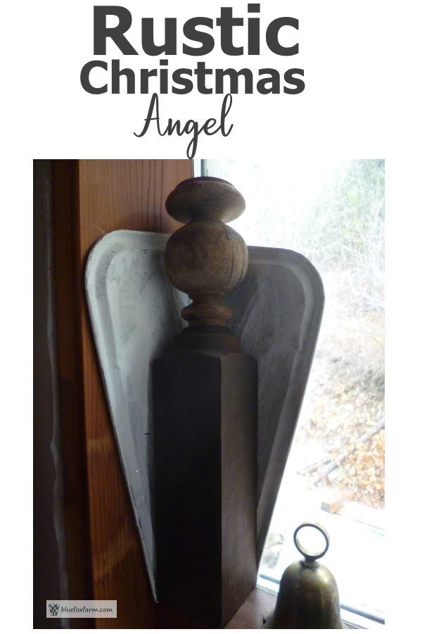 Rustic Christmas Angel