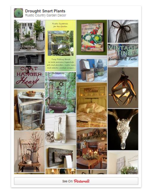Rustic Country Garden Decor on Pinterest
