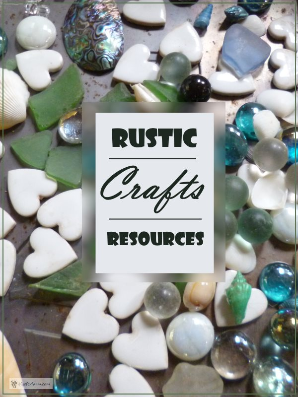 Rustic Crafts Resources