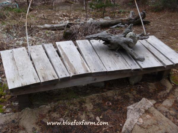 Rustic Bench made from salvaged millends and other dimension lumber