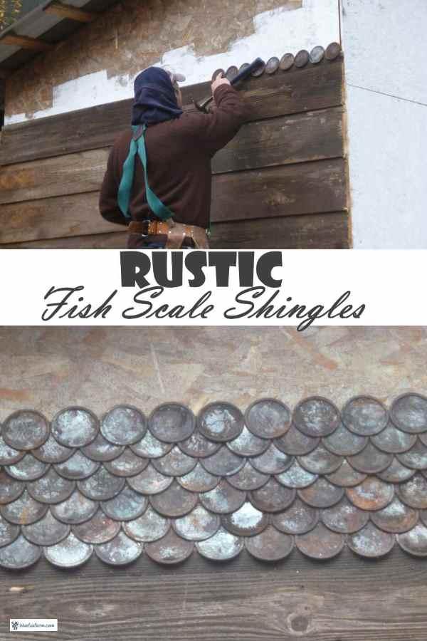 Rustic Fish Scale Shingles