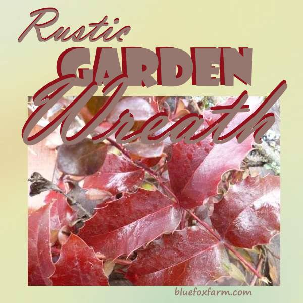 Rustic Garden Wreath