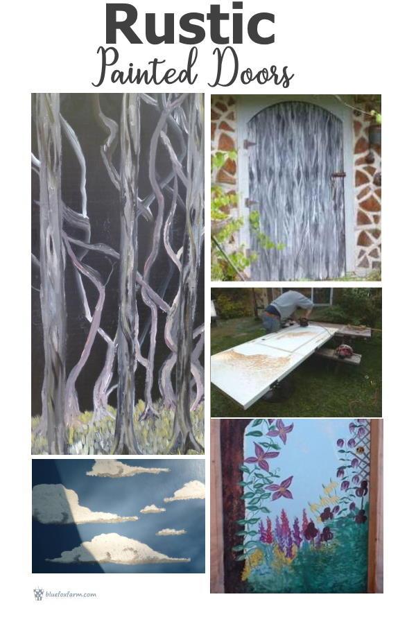 Rustic Painted Doors