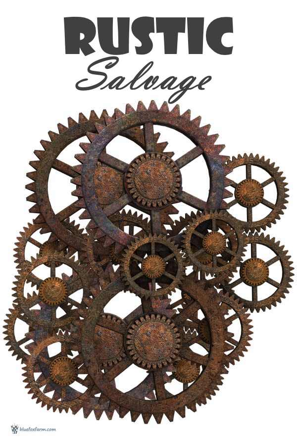 Rusty Cogs and Gears