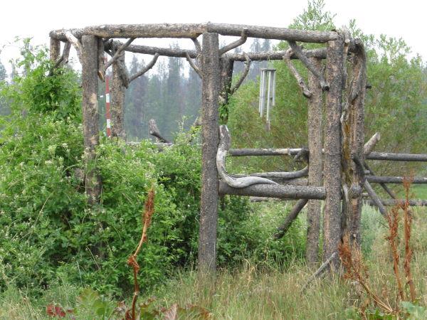 Wood Henge at Tatla Springs