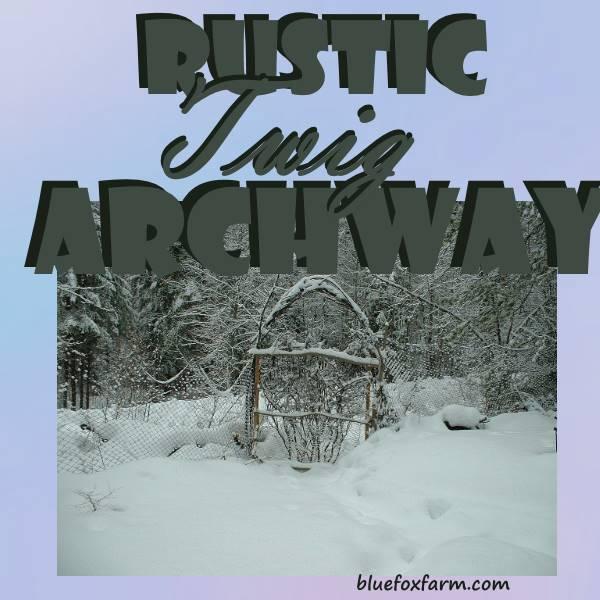 Rustic Twig Archway