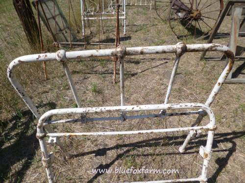 Lots of potential for rustic gates here...