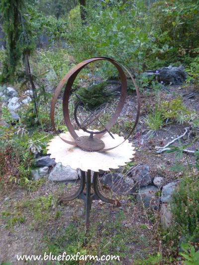 Another display of an armillary sphere...