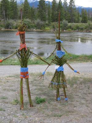 Scarecrow Willow Art
