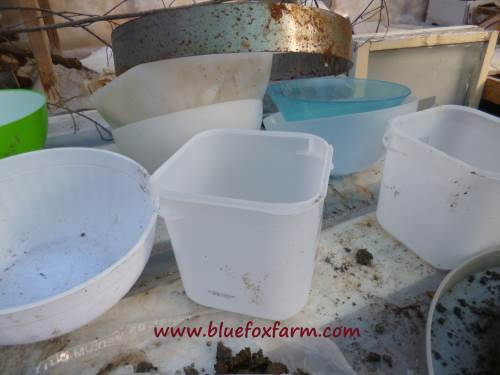 Molds can be almost anything - bowls from the thrift store work well...