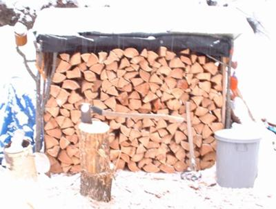 My Bartered Firewood
