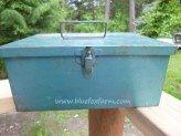 Blue Vintage First Aid Tin
